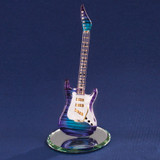 Purple Haze Guitar Glass Figurine GP1164