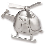 Pewter Finished Helicopter Bank GP523