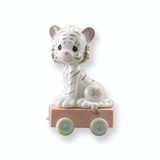 Precious Moments Age Sixteen White Tiger Porcelain Figurine GP717