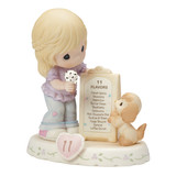 Precious Moments Growing in Grace Age Eleven Porcelain Figurine GP729