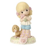 Precious Moments Growing in Grace Age Twelve Porcelain Figurine GP730