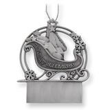 Pewter Sleigh Ornament GP8055