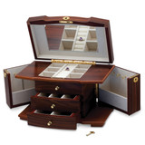 Dark Oak Finish Jewelry Box GP9501