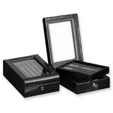 Black Leather Pen Display Box GP9916