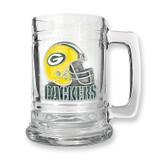 Green Bay Packers 15oz Glass Tankard GC239