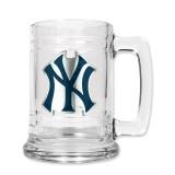 New York Yankees 15oz Glass Tankard GC888