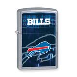 Zippo Buffalo Bills Polished Chrome Lighter GL6560