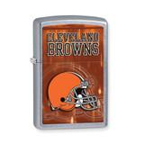Zippo Cleveland Browns High Polish Chrome Lighter GL6564