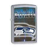 Zippo Seattle Seahawks High Polish Chrome Lighter GL6584