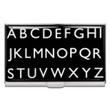 ACME Alphabet Business Card Case By Rod Dyer by ACME Studios MPN: CRD01BC