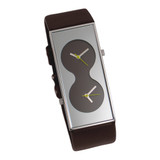 ACME Bi Brown Wrist Watch By Karim Rashid by ACME Studios MPN: QKR14W