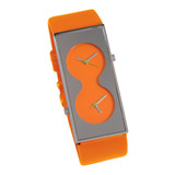 ACME Bi Orange Wrist Watch By Karim Rashid by ACME Studios MPN: QKR15W