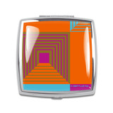 ACME Biltmore Compact Mirror By Frank Lloyd Wright by ACME Studios MPN: A3W13CP