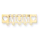 Mom Pin 14k Gold Polished XK831
