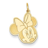 Disney Minnie Charm 14k Gold WD136Y