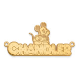 Disney Nameplate Gold-plated, MPN: XNA465GP, UPC: 886774354392