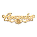Disney Nameplate 14k Gold, MPN: XNA469Y, UPC: 886774354583
