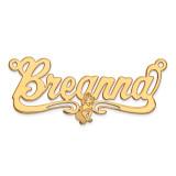 Disney Nameplate 14k Gold, MPN: XNA470Y, UPC: 886774354620