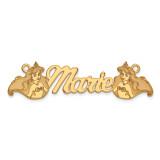 Disney Nameplate 14k Gold, MPN: XNA472Y, UPC: 886774354668