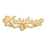 Disney Nameplate Gold-plated, MPN: XNA476GP, UPC: 886774354712