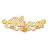 Disney Nameplate 14k Gold, MPN: XNA483Y, UPC: 886774354941