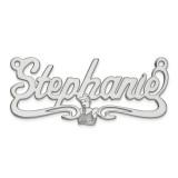 Disney Nameplate Sterling Silver, MPN: XNA487SS, UPC: 886774355047