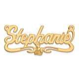 Disney Nameplate 14k Gold, MPN: XNA487Y, UPC: 886774355061