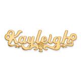 Disney Nameplate 14k Gold, MPN: XNA488Y, UPC: 886774355108