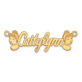 Disney Nameplate Gold-plated, MPN: XNA489GP, UPC: 886774355115