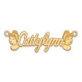 Disney Nameplate 14k Gold, MPN: XNA489Y, UPC: 886774355146