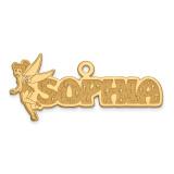Disney Nameplate 14k Gold, MPN: XNA494Y, UPC: 886774355221