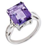 Amethyst Ring Sterling Silver QR2955AM