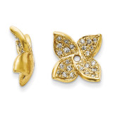 Diamond Earring Jacket 14k Gold XJ83A UPC: 886774126999