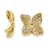 Diamond Earring Jacket 14k Gold XJ85A UPC: 886774127019