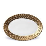L'Objet Aegean Oval Platter - Gold MPN: AG5950
