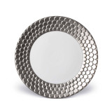 L'Objet Aegean Dinner Plate - Platinum MPN: AG6100