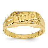 AA Diamond men's ring 14k Gold Y1616AA