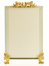 La Paris Butterfly Pears And Leaves  Brass Picture Frame Over 10 sizes vertical horizontal /& square