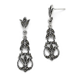 Marcasite Earrings Sterling Silver QE3408