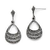 Marcasite Earrings Sterling Silver QE3417