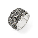 Marcasite Ring Sterling Silver QR1380-6