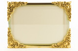 La Paris Baroque 8 x 10 Inch Brass Picture Frame - Horizontal