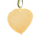 Aspen Decorative Leaf 24k Gold Dipped GM3860