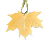 Sugar Maple Decorative Leaf 24k Gold Dipped GM3895