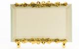 La Paris Evergreen 4 x 6 Inch Brass Picture Frame - Horizontal