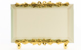 La Paris Evergreen 5 x 7 Inch Brass Picture Frame - Horizontal