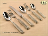 ValPeltro Archimede Salad Serve Fork Pewter