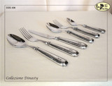 ValPeltro Dinasty Four Piece 4 PC Steak Knife Set Pewter