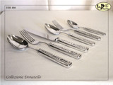 ValPeltro Donatello 2 Piece 2 PC Serving Set Pewter