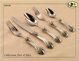 ValPeltro Fior d Alise Dessert Fork Pewter